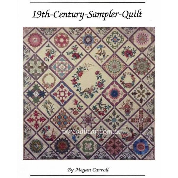 19th-Century-Sampler-Quilt