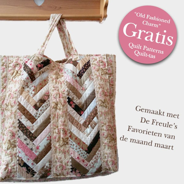 Gratis Patroon Old Fashioned Charm